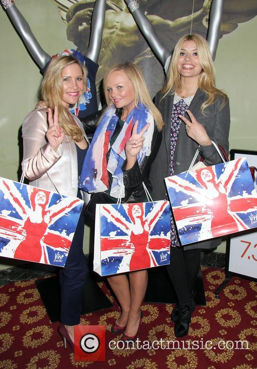Holly Willoughby, Emma Bunton and Heidi Range 10