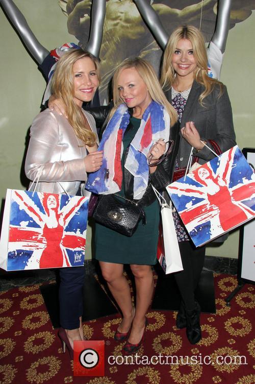 Holly Willoughby, Emma Bunton and Heidi Range 7