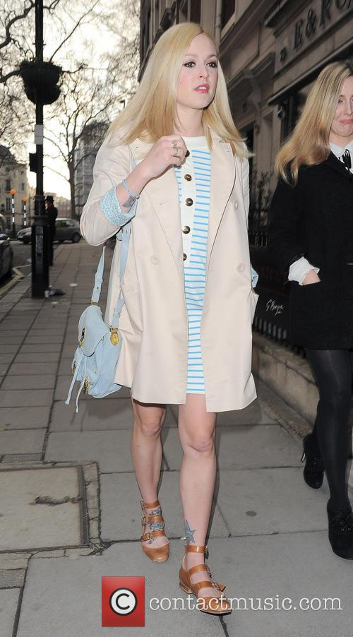 Fearne Cotton at Art Exhibition