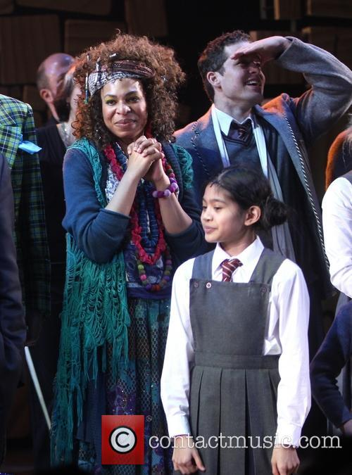Karen Aldridge and Cast Of Matilda 2
