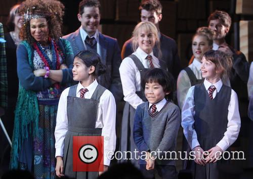 Karen Aldridge and Cast Of Matilda 1