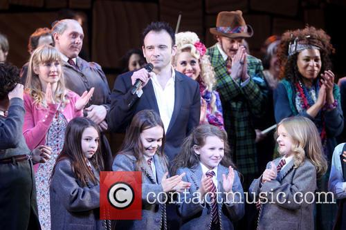 Lauren Ward, Lesli Margherita, Gabriel Ebert, Karen Aldridge and Cast Of Matilda 3