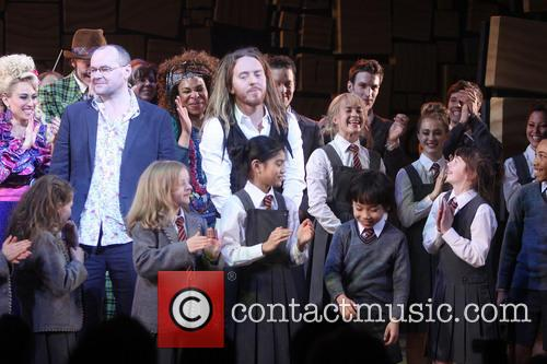 Lesli Margherita, Gabriel Ebert, Karen Aldridge, Tim Minchin and Cast Of Matilda 2