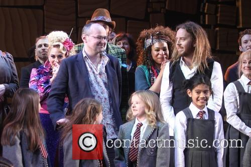 Lesli Margherita, Karen Aldridge, Tim Minchin and Cast Of Matilda 3