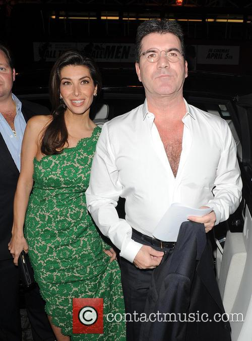 Mezhgan Hussainy and Simon Cowell 1