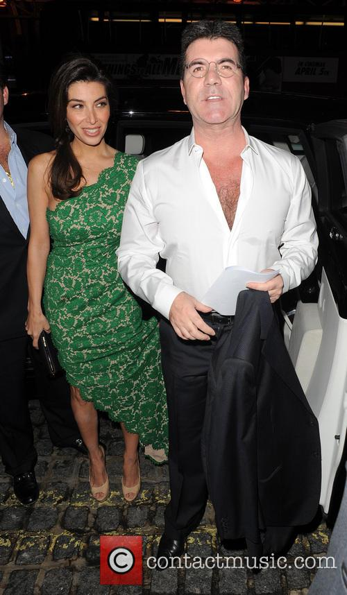 Mezhgan Hussainy and Simon Cowell 3