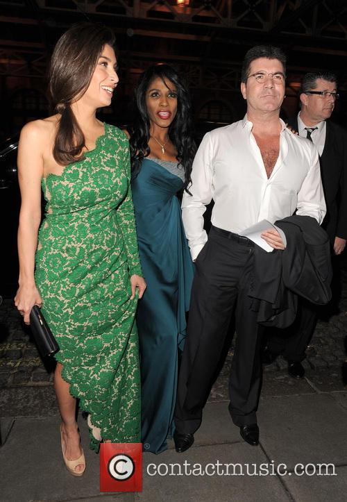 Mezhgan Hussainy and Simon Cowell 5