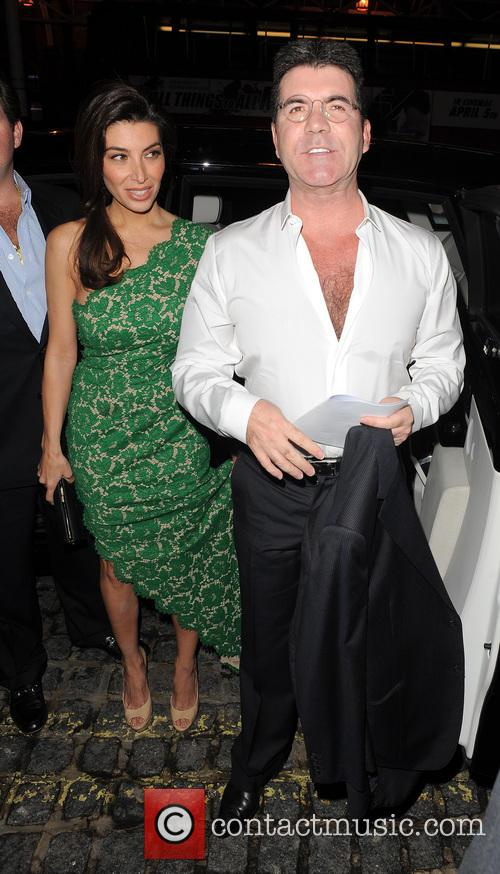 Mezhgan Hussainy and Simon Cowell 6