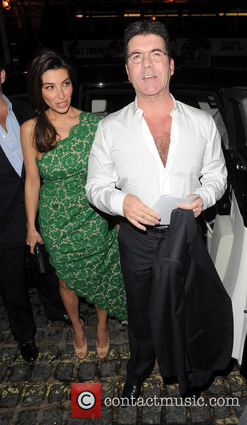 Mezhgan Hussainy and Simon Cowell 7