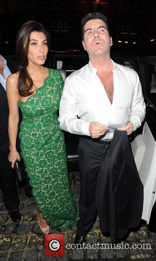 Mezhgan Hussainy and Simon Cowell 8
