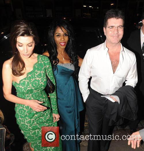 Mezhgan Hussainy, Sinitta and Simon Cowell 9