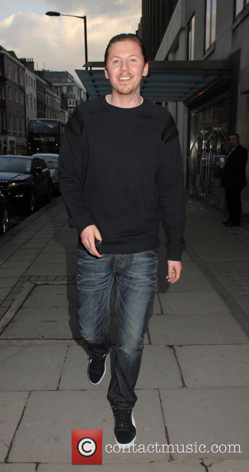 Professor Green In Mayfair