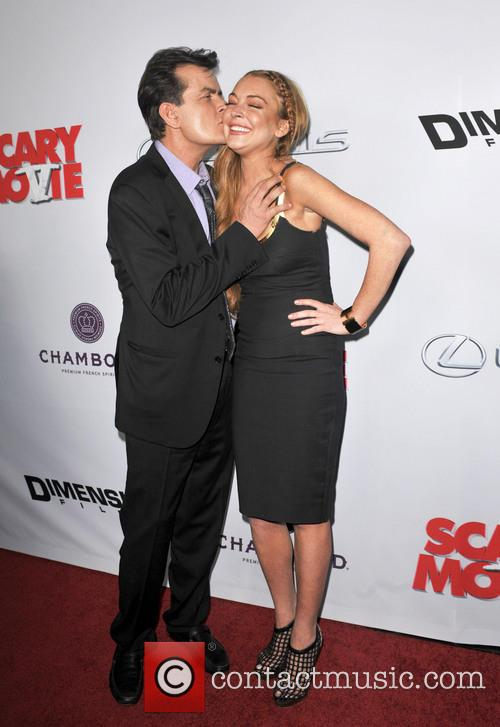 Charlie Sheen and Lindsay Lohan 2