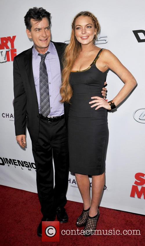 Charlie Sheen and Lindsay Lohan 6
