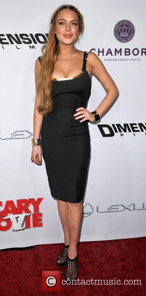Scary Movie and Linday Lohan 4