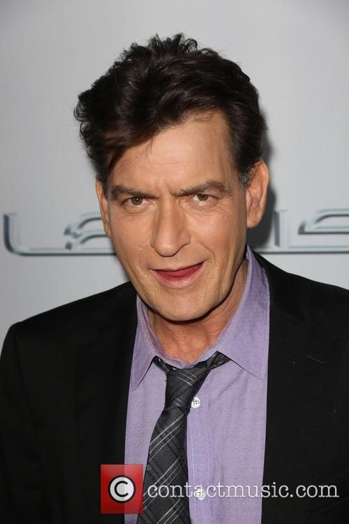 Charlie Sheen, Scary Movie Premiere