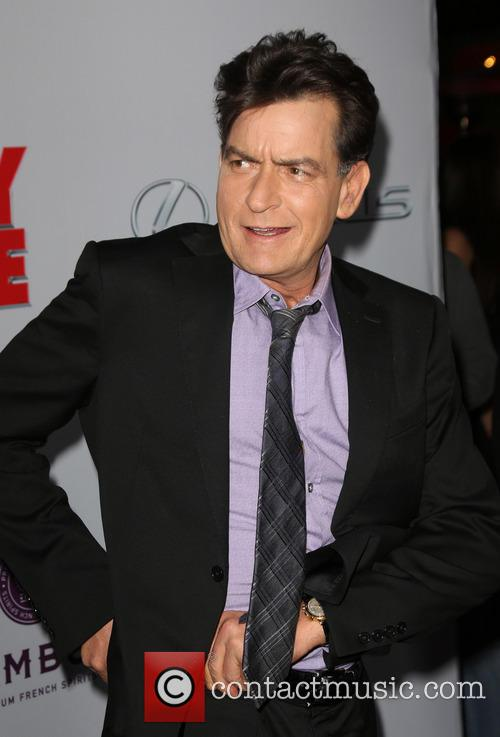 Charlie Sheen, Scary Movie 5 Premiere
