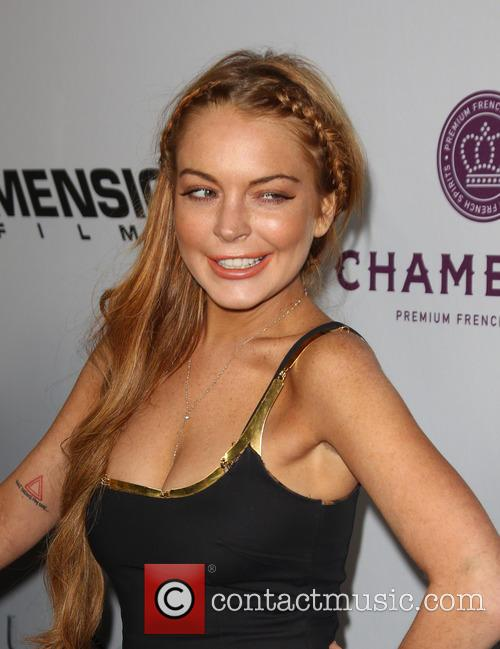Lindsay Lohan, Scary Movie 5 Premiere