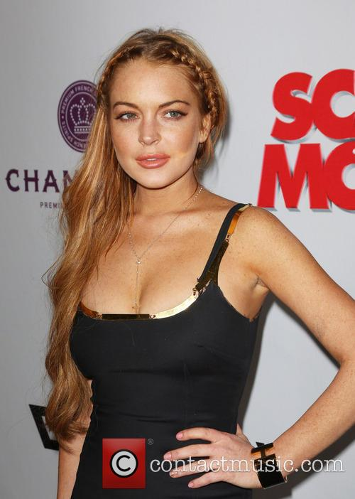 lindsay lohan premiere of scary movie 5 3602137
