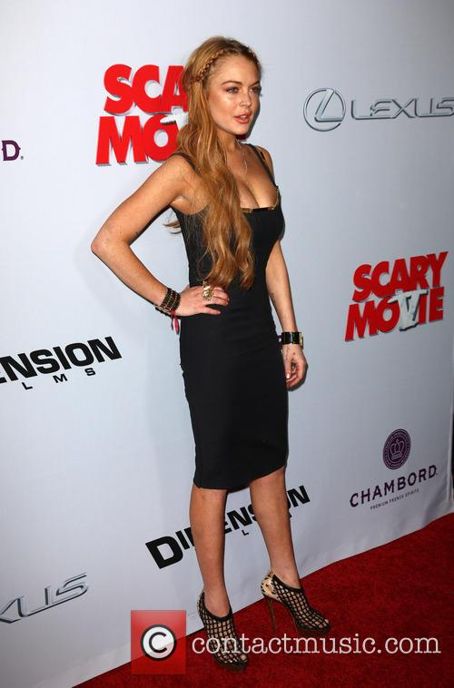 lindsay lohan premiere of scary movie 5 3602153