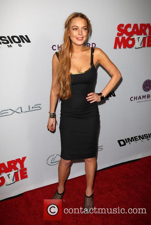 Lindsay Lohan, Scary Movie 5 Premiere