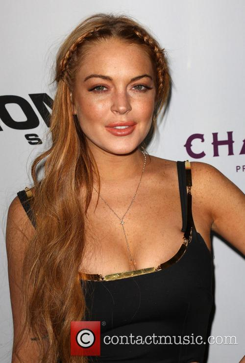 Lindsay Lohan Scary Movie Premiere