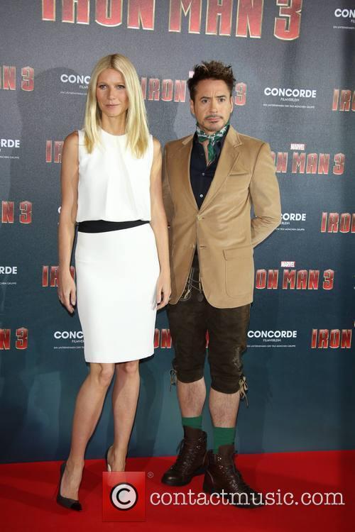 Robert Downey Jr and Gwyneth Paltrow 1