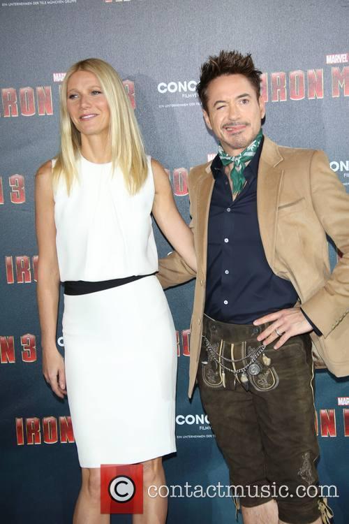 Robert Downey jr, Gwyneth Paltrow, Hotel Bayerischer Hof