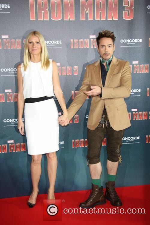 Robert Downey Jr and Gwyneth Paltrow 4