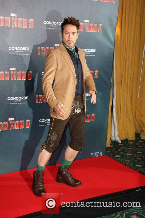 Robert Downey, Hotel Bayerischer Hof