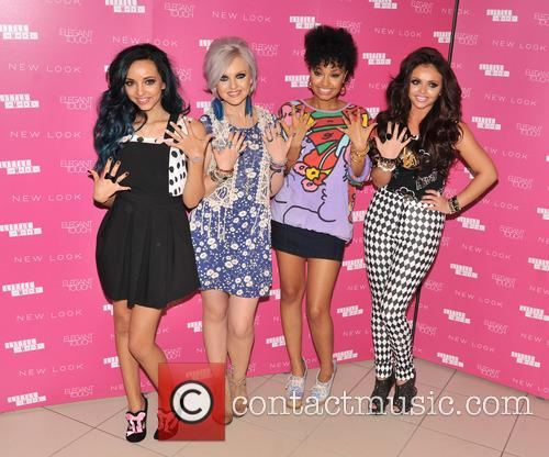 Jade Thirlwall, Perrie Edwards, Leigh-anne Pinnock, Jesy Nelson and Little Mix 4