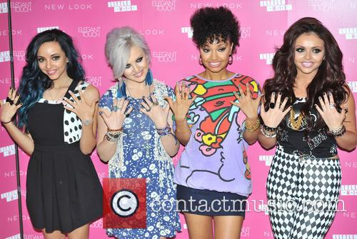 Jade Thirlwall, Perrie Edwards, Leigh-anne Pinnock, Jesy Nelson and Little Mix 11