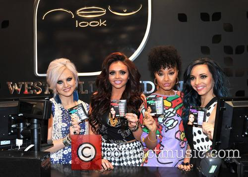 Little Mix press on nail launch