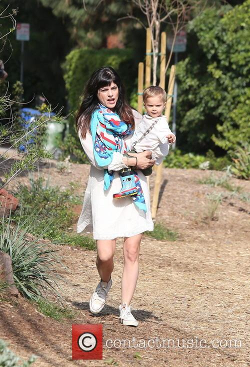 Selma Blair and Arthur Saint Bleick 16