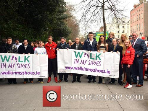 'Walk In My Shoes' photocall