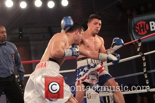 Bahodir Mamadjonov and Angelo Santana 2
