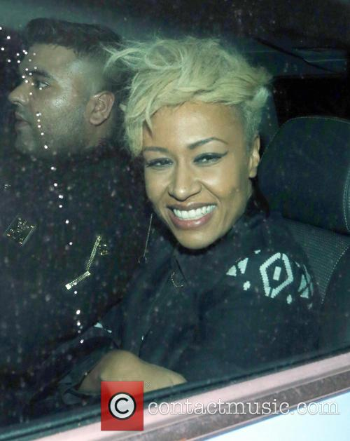 emeli sand celebrities at groucho club 3603347