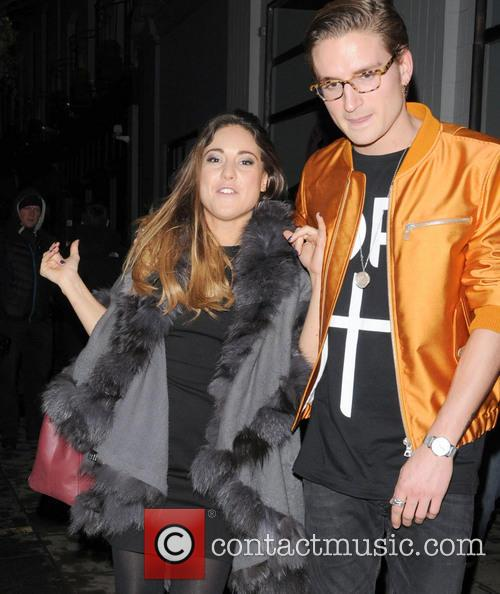 Louise Thompson and Oliver Proudlock 1