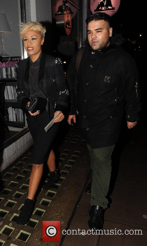 Millie Mackintosh and Professor Green engagement party at Groucho club