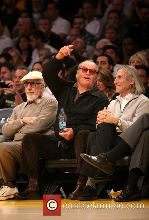 Jack Nicholson Lakers