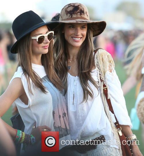 Miranda Kerr and Alessandra Ambrosio 2