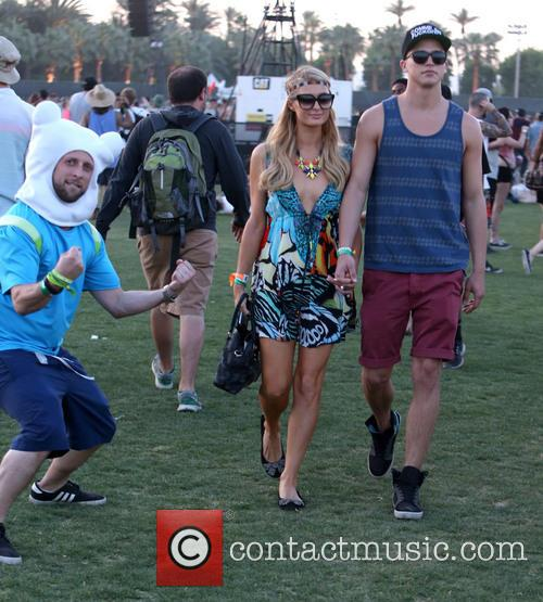 paris hilton river viiperi celebrities at coachella festival 3603443