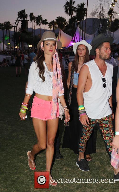 Alessandra Ambrosio, Coachella Music Festival, Coachella