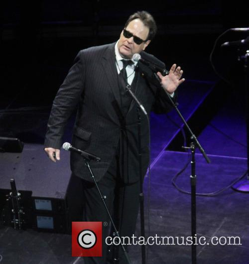 Dan Aykroyd performs at Crossroads Guitar Festival