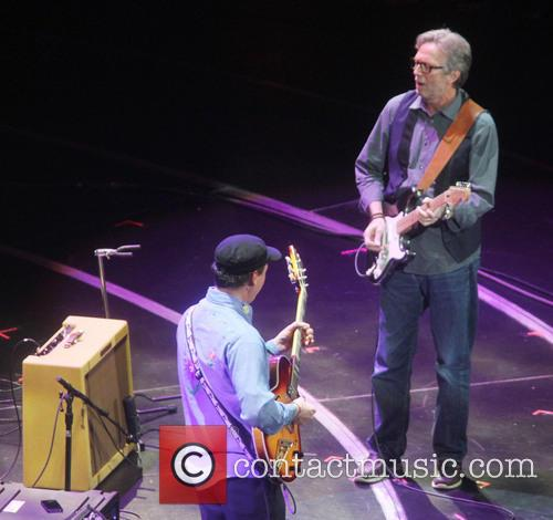 Eric Clapton at his fourth Crossroads Guitar Festival