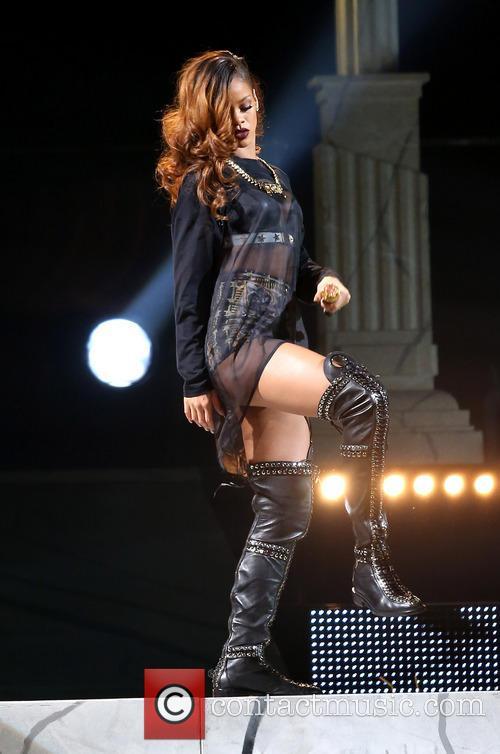 Rihanna Performs at Mandalay Bay Event Center