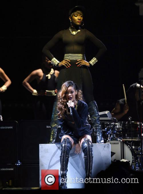 Rihanna Performs at Mandalay Bay Event Center