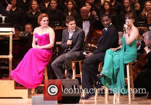 Jennifer Laura Thompson, Jeremy Jordan, Norm Lewis and Julia Murney 2