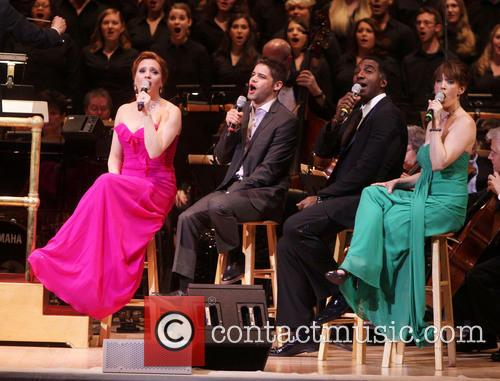 Jennifer Laura Thompson, Jeremy Jordan, Norm Lewis and Julia Murney 1