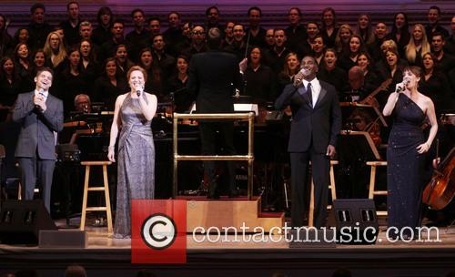 Jeremy Jordan, Jennifer Laura Thompson, Norm Lewis and Julia Murney 4